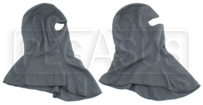 Large photo of CarbonX Head Sock, specify single or dual eye opening, Pegasus Part No. 2124-Style