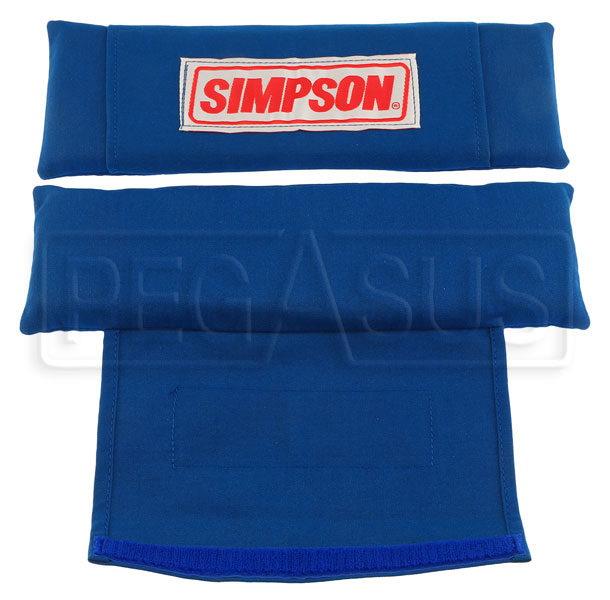 Large photo of Simpson Nomex Harness Sleeves, Pegasus Part No. 2129-Color