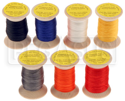 Large photo of Clearance Nomex Thread, Tex 60 Size, Shorter Lengths, Pegasus Part No. CL2131-Color