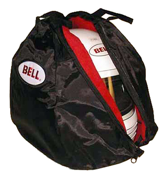 Large photo of Bell Black Helmet Bag with Fleece Lining, Pegasus Part No. 2132