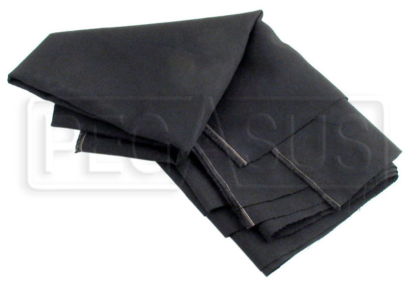Large photo of Nomex Material, Black, 60 inch wide (per linear foot), Pegasus Part No. 2134-BLACK