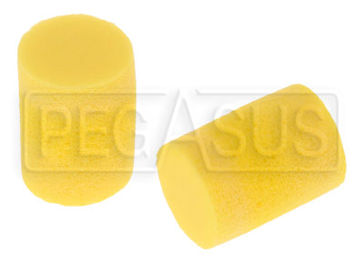 Large photo of Cylindrical Foam Ear Plugs, Pegasus Part No. 2139-Size