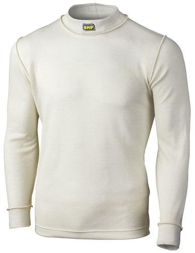 Large photo of OMP First Nomex Underwear Top, Long Sleeve, FIA / SFI, Pegasus Part No. 2153-005-Size