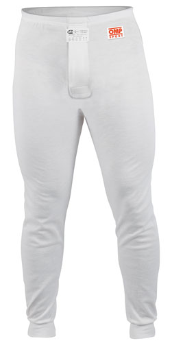 Large photo of OMP Sport Line Nomex Underwear Pant, SFI 3.3, Pegasus Part No. 2153-011-Size