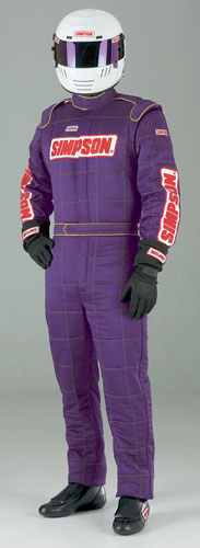 Large photo of Simpson MTO33 Custom-Made Sateen Nomex Suit, Pegasus Part No. 2163-Size