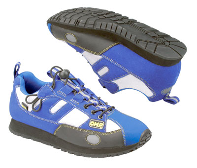 Large photo of OMP Techno Plus Crew Shoe, Pegasus Part No. 2170-Size-Color