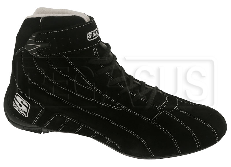 Large photo of Simpson Circuit Driving Shoe, SFI Approved, Pegasus Part No. 2192-Size-Color