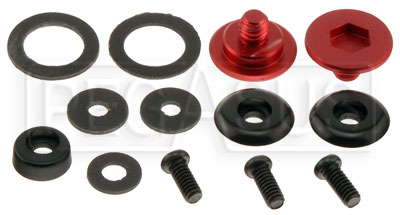 Large photo of Spare Parts Kit for Bell Helmets with SRV-2 Pivot, Pegasus Part No. 2239-008-Color