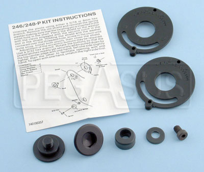 Large photo of Spare Parts Kit for Bell Helmet with Kam-Lock Pivot, Pegasus Part No. 2257