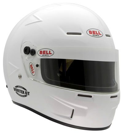 Large photo of Bell Vortex GT Helmet, Snell SAH2010, Matte Black, Sz. 7 1/8, Pegasus Part No. 2284-S10-Size-Color