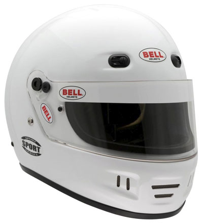 Large photo of Bell Sport Helmet, Snell SA2010, Marine Orange, size X-Large, Pegasus Part No. 2361-S10-Size-Color
