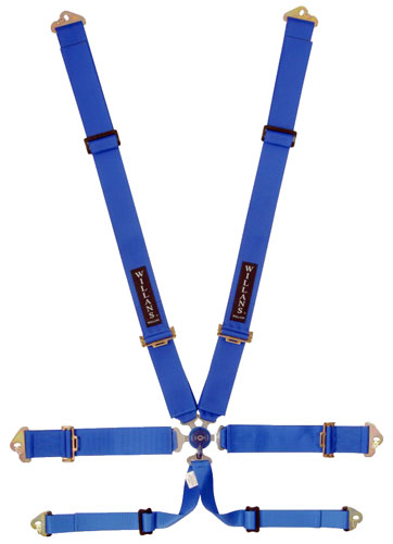 Large photo of Willans Club Vee 6 Saloon Harness, 3x3, FIA, Pegasus Part No. 2379-004-Color