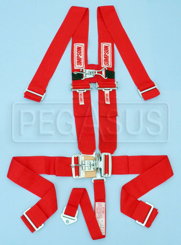 Large photo of Simpson Latch 5 Way F/X System with Sternum Latch, Pegasus Part No. 239-05-Color