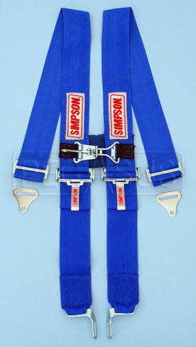 Large photo of Simpson Latch & Link Shoulder Harness w/Sternum Latch, Pegasus Part No. 239-35-Color