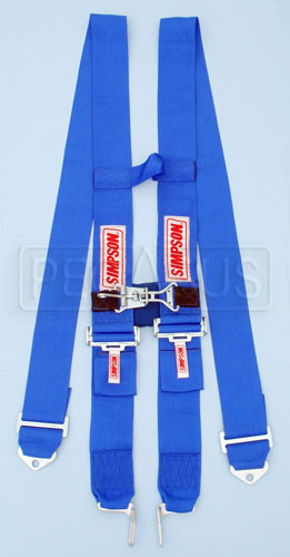 Large photo of Simpson H-Type Latch & Link Shoulder Harness w/Sternum Latch, Pegasus Part No. 239-41-Color