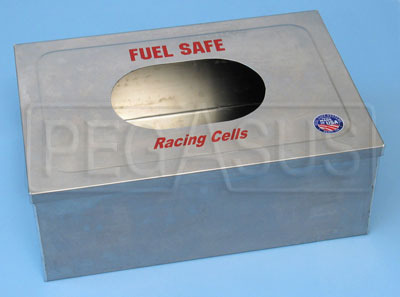 Large photo of Fuel Safe Aluminum Container Only, Pegasus Part No. 2509-Size-Material