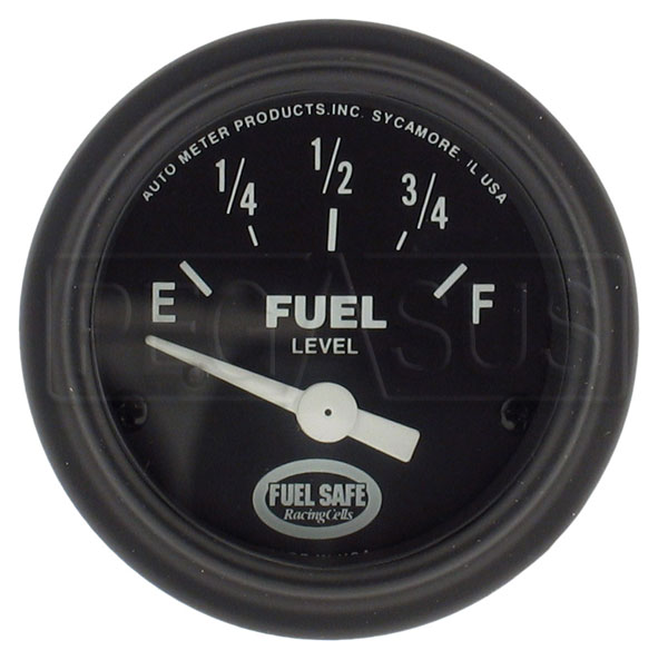 Large photo of Fuel Level Gauge for Fuel Cells, 0-90 Ohm, Pegasus Part No. 2524-Size