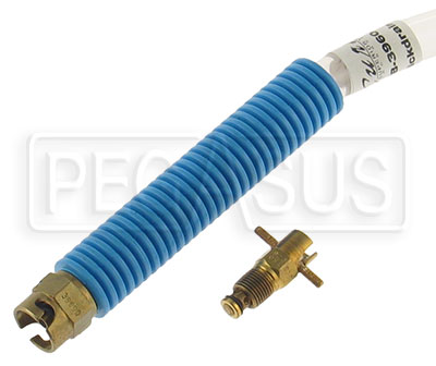 Large photo of Fuel Sample Kit, 1/8 NPT male thread Valve and Hose Assembly, Pegasus Part No. 2533