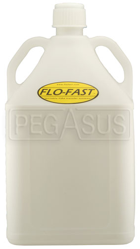 Large photo of 15 Gallon Translucent White Utility Jug for Flo-Fast Systems, Pegasus Part No. 2577-031