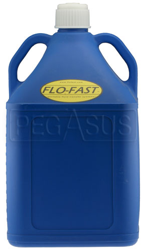 Large photo of 15 Gallon Blue Utility Jug for Flo-Fast Pump Systems, Pegasus Part No. 2577-032