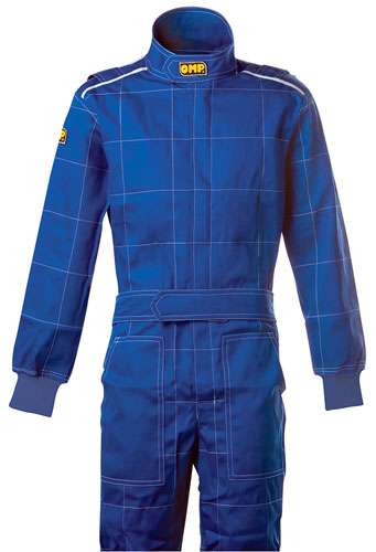 Large photo of OMP Star Driving Suit, Single Layer, Pegasus Part No. 2606-002-Size-Color
