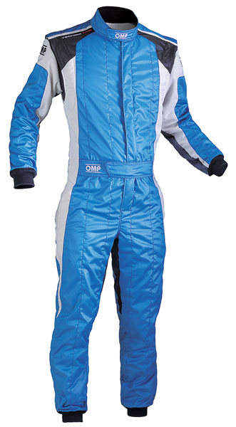 Large photo of OMP Tecnica Evo Suit, 3 Layer, FIA 8856-2000, Pegasus Part No. 2606-005-Size-Color