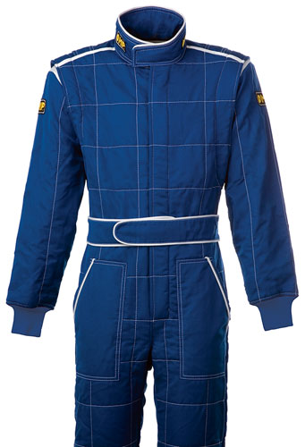 Large photo of OMP Trend 2 Drivers Suit, 3 Layer Nomex, FIA 8856-2000, Pegasus Part No. 2610-Size-Color