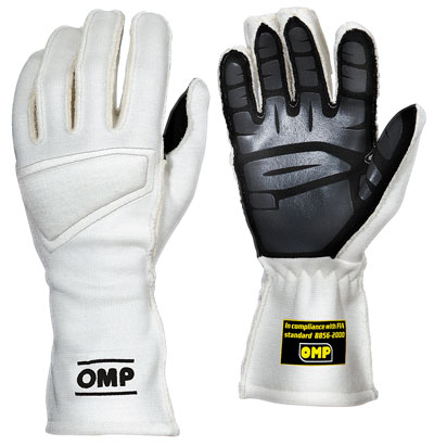 Large photo of OMP One Nomex Driving Glove, FIA 8856-2000, Pegasus Part No. 2625-Size-Color