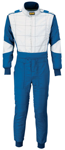 Large photo of OMP Elite Drivers Suit, 2 Layer Nomex, FIA 8856-2000, Pegasus Part No. 2628-Size-Color