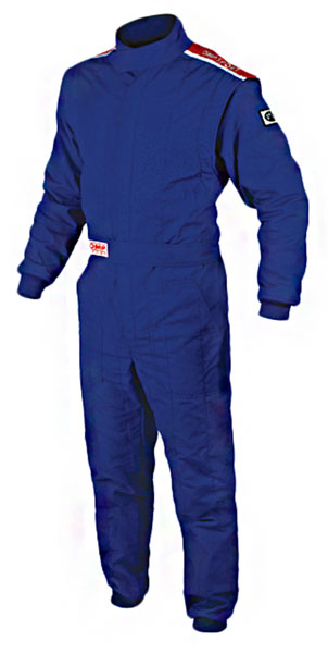 Large photo of OMP Sport 2-Layer Suit, SFI-5, Pegasus Part No. 2637-001-Size-Color