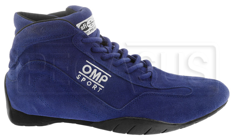 Large photo of OMP Sport Line Driving Shoes, SFI 3.3/5, Pegasus Part No. 2650-Size-Color