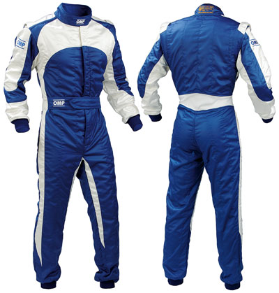 Large photo of OMP Dynamo Suit, 2 Layer Nomex, FIA 8856-2000, Save $310, Pegasus Part No. 2670-003-Size-Color