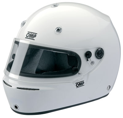 Large photo of OMP Grand Prix Helmet, Snell SA2010 Approved, Pegasus Part No. 2777-S10-Size-Color