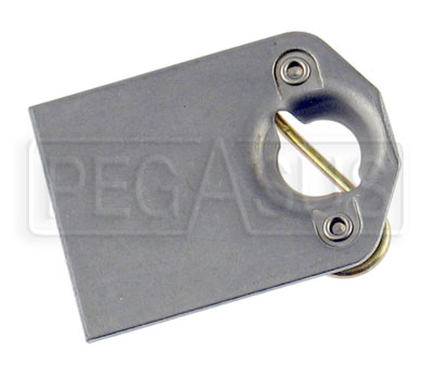 Large photo of Dzus Weld Plate Spring Receptacle, each, Pegasus Part No. 3019