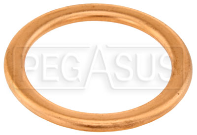 Large photo of Replacement Gasket, Fits 20mm x 1.50 Male Plug, Pegasus Part No. 3228-374