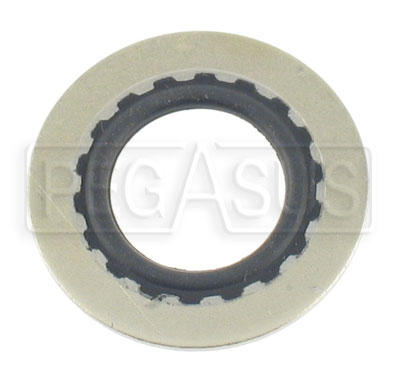Large photo of Aluminum Stat-O-Seal Sealing Washers, Pegasus Part No. 3245-Size