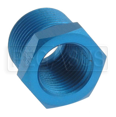 Large photo of AN912 Aluminum Pipe Reducer Bushing, Pegasus Part No. 3257-Size-Size