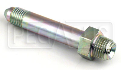 Large photo of 3AN/42 degree Inverted Flare 7/16-24 Brake Adapter-Long, Pegasus Part No. 3265-3