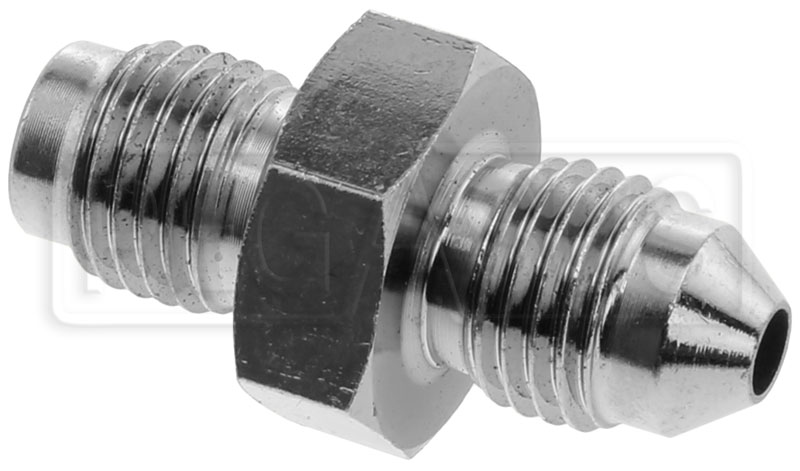 An degree inverted flare brake adapter chrome