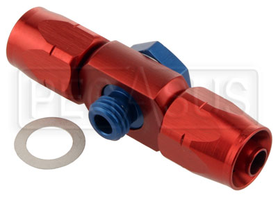 Large photo of 12x1.5mm (Weber, Bosch pump) Banjo -6 Double Hose End, Pegasus Part No. 3275-010