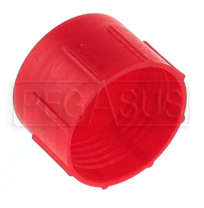 Large photo of AN Plastic Flare Cap (threaded, not push-on type), Pegasus Part No. 3297-Size