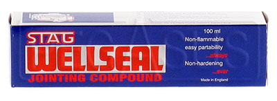 Large photo of (HAO) Wellseal Jointing Compound, 100 ml, Pegasus Part No. 3304-Size