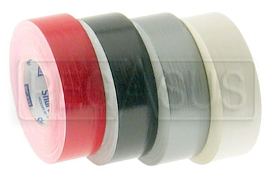 Large photo of Super Racers Tape, 2 inch  x 60 YD Roll, Pegasus Part No. 3320-Color
