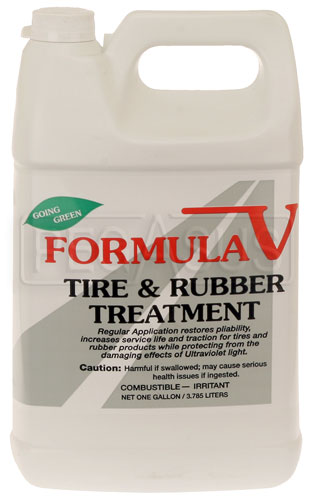 Large photo of (HAO) Formula V Tire and Rubber Treatment, 1 Gallon, Pegasus Part No. 3340-001