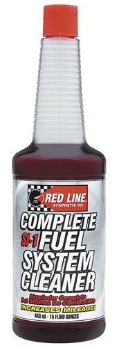 Large photo of Red Line SI-1 Complete Fuel System Cleaner, Pegasus Part No. 3345-Quantity