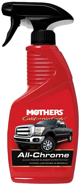 Mothers California Gold All Chrome Quick Polish Cleaner
