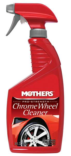 Large photo of Mothers Pro-Strength Chrome Wheel Cleaner, 24oz, Pegasus Part No. 3361-024