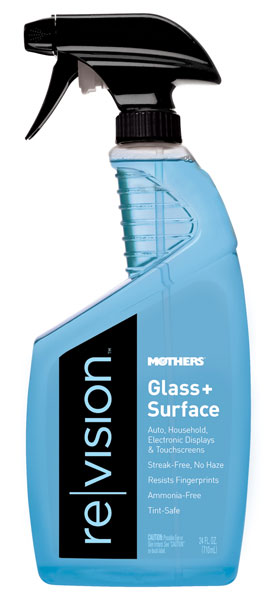 Large photo of Mothers Revision Glass plus Surface Cleaner, 24oz, Pegasus Part No. 3361-037
