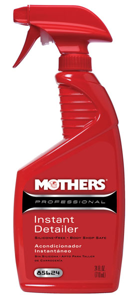 Large photo of Mothers Professional Instant Detailer - Silicone Free, 24oz, Pegasus Part No. 3361-112