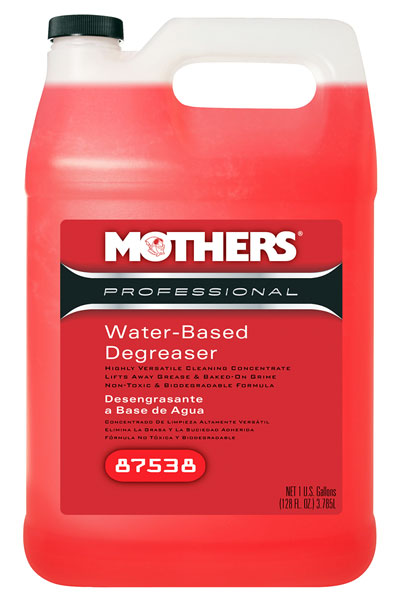 Large photo of Mothers Pro Water-Based Degreaser, 1 gallon, Pegasus Part No. 3361-119